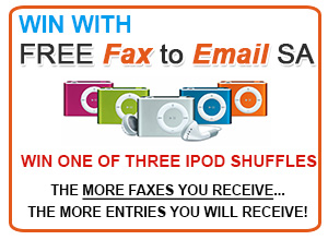 Free Fax to Email Ipod Shuffle Competition